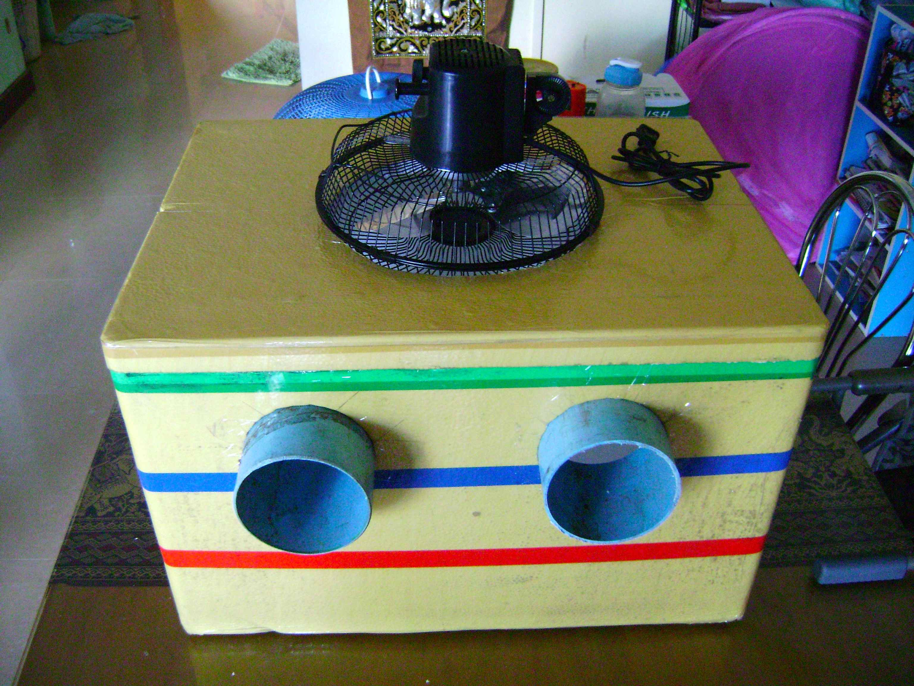 how to build your own air conditioner