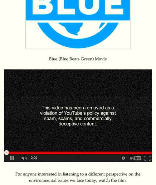 blue shutdown