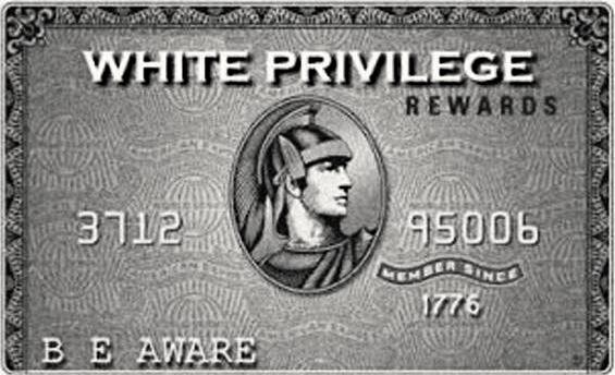 white-priviledge-card